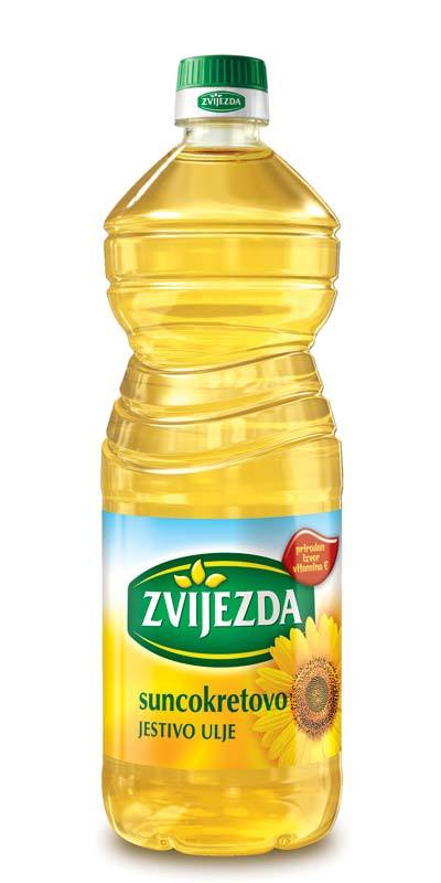 Zvijezda Sunflower Oil, 1 Liter