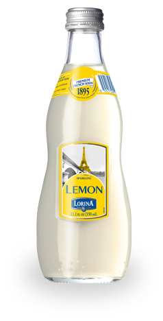 Lorina Premium French Soda Sparkling Lemon, 1LT (33.8FL OZ)