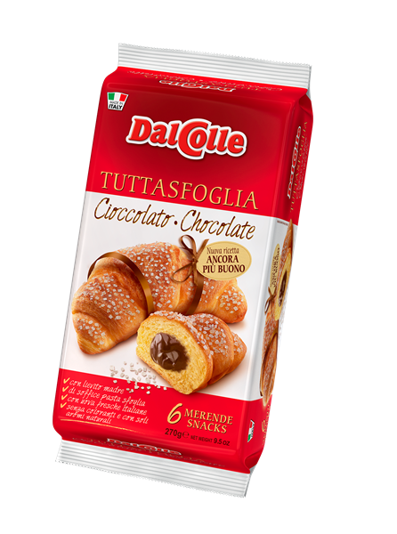 DalColle Croissant Chocolate 9.52 oz - 270g