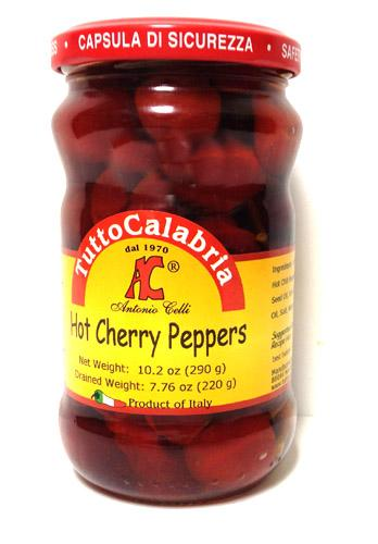 Tutto Calabria Hot Cherry Peppers 10.2 oz