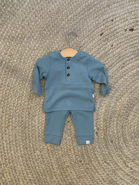 Petit Lem - Blue 2 piece set