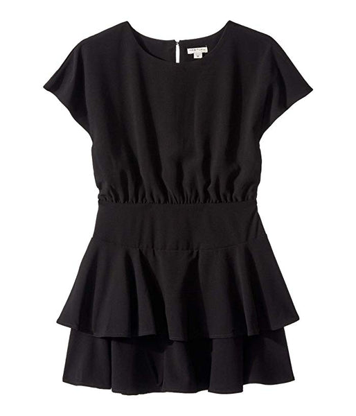 Habitual Girl - Gracie Crepe Dress - Black