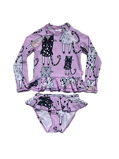 Sunguard Swimwear - MEOW PRINT REESE