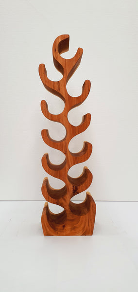 Natural Wooden Wine Rack- Medium