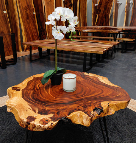 COF001 - Live Edge Coffee Table