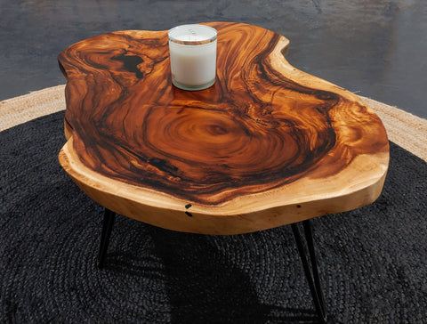 COF005 - Live Edge Coffee Table