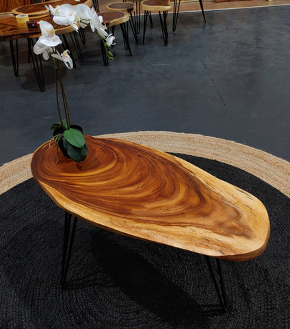 COF006 - Live Edge Coffee Table
