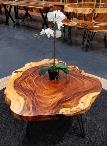 COF009 - Live Edge Coffee Table