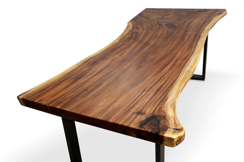 LAD009 - Natural Hardwood Dining Table