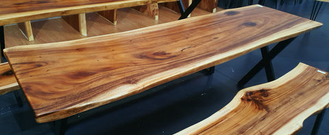 LAD014 - Live Edge Dining Table