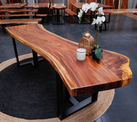 LAD016 - Live River Edge Dining Table