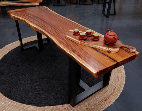 LAD028 - Live Edge Rain Tree Tabletop