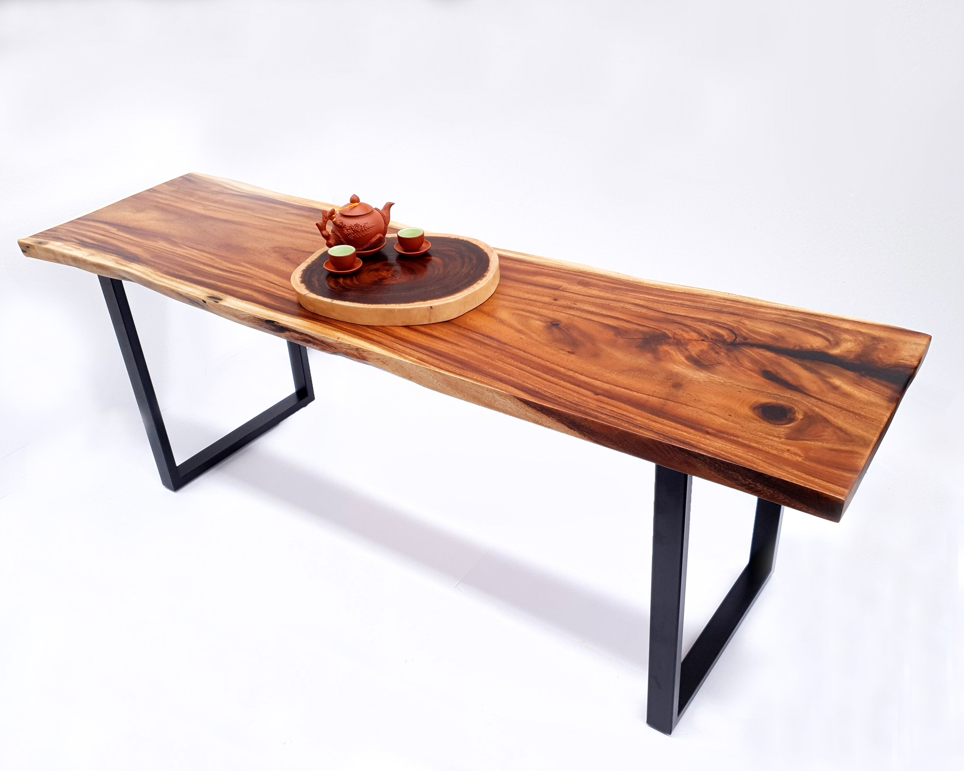 LAD033- Beautiful Warm Brown Dining Table
