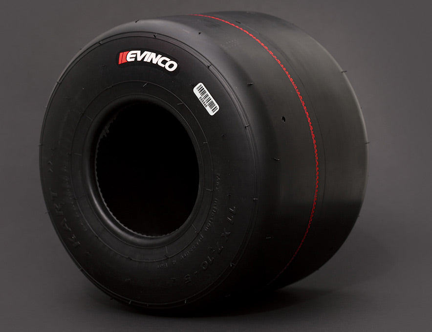 Evinco Red Tires