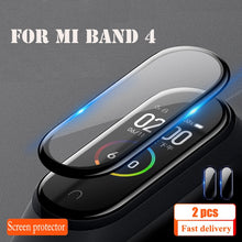 Charger l'image dans la galerie, Protective Film For XiaoMi Band 4 NFC Wristband Screen Film Mi Band 4 glass Explosion-proof/scratch prevention screen protector