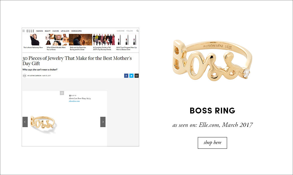 Elle: Boss Ring