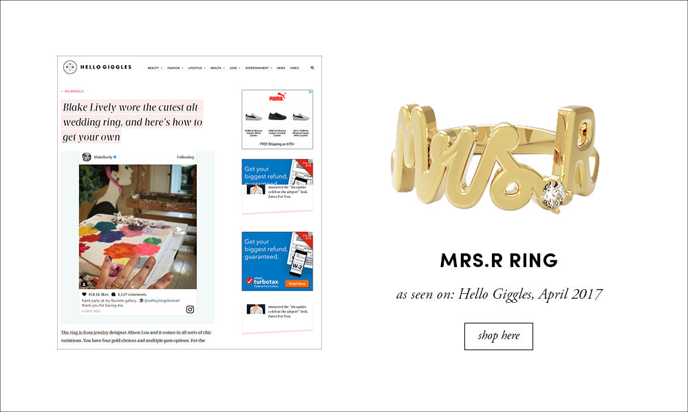 Hello Giggles: Mrs.R Ring