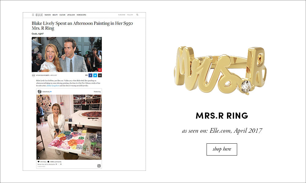 Elle: Mrs.R Ring