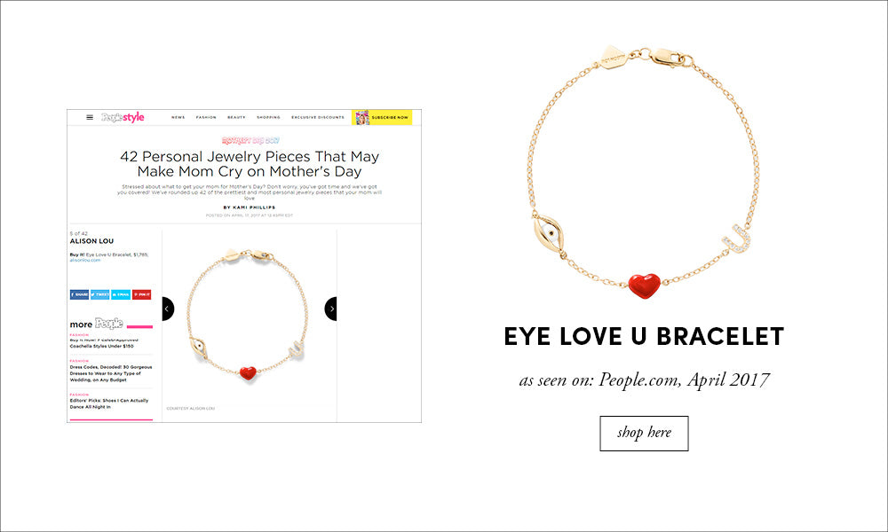 People Style: Eye Love U Bracelet