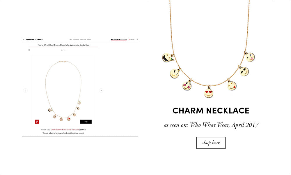 Who What Wear: Charm Necklace
