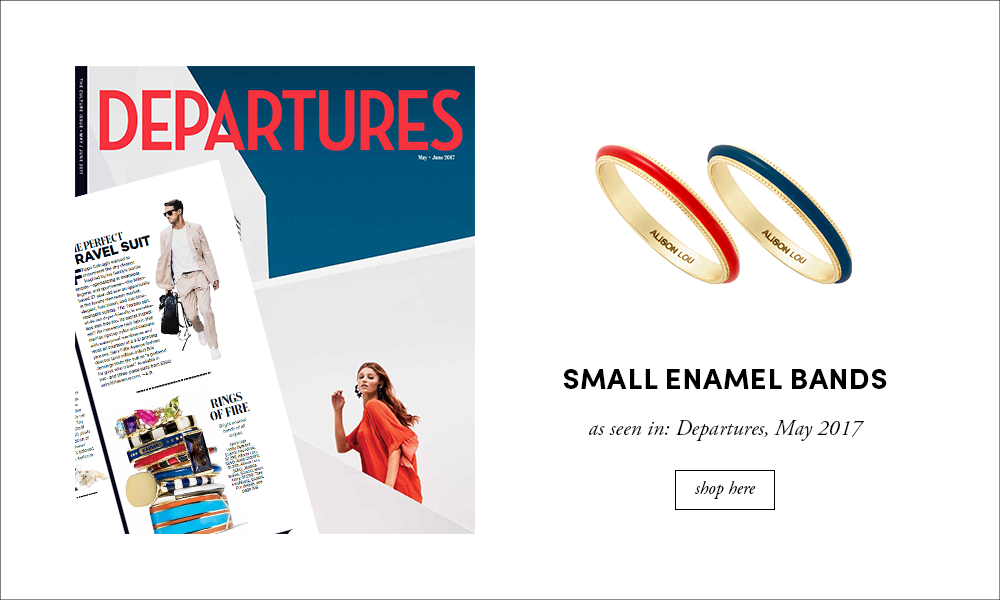 Departures: Small Enamel Band