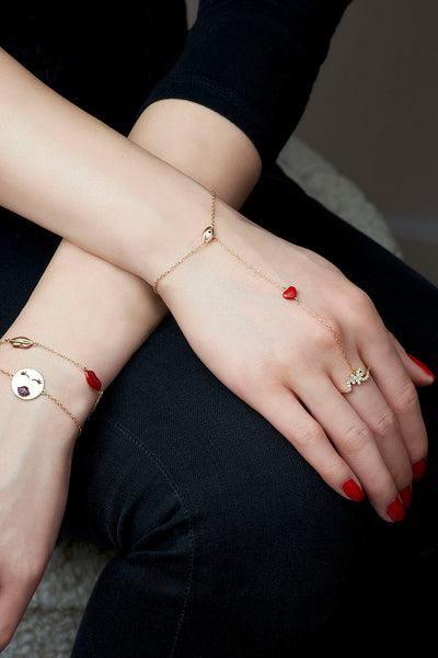 Eye Love Me Bracelet & Ring Combination