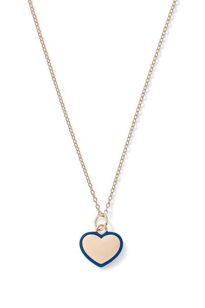Puffy Heart Charm Pendant
