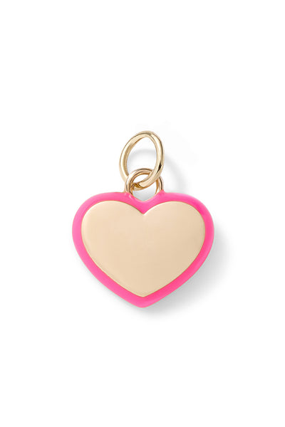 Puffy Heart Charm Pendant - In Stock