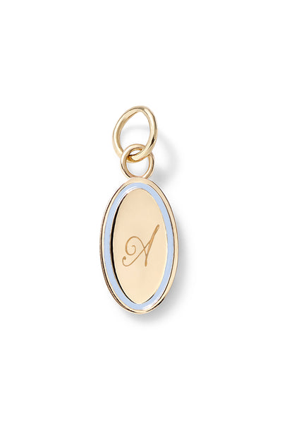 Oval Charm Pendant