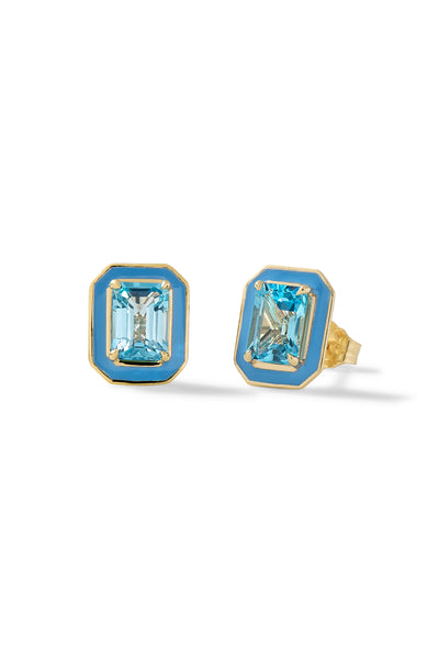 Small Rectangular Cocktail Studs - In Stock