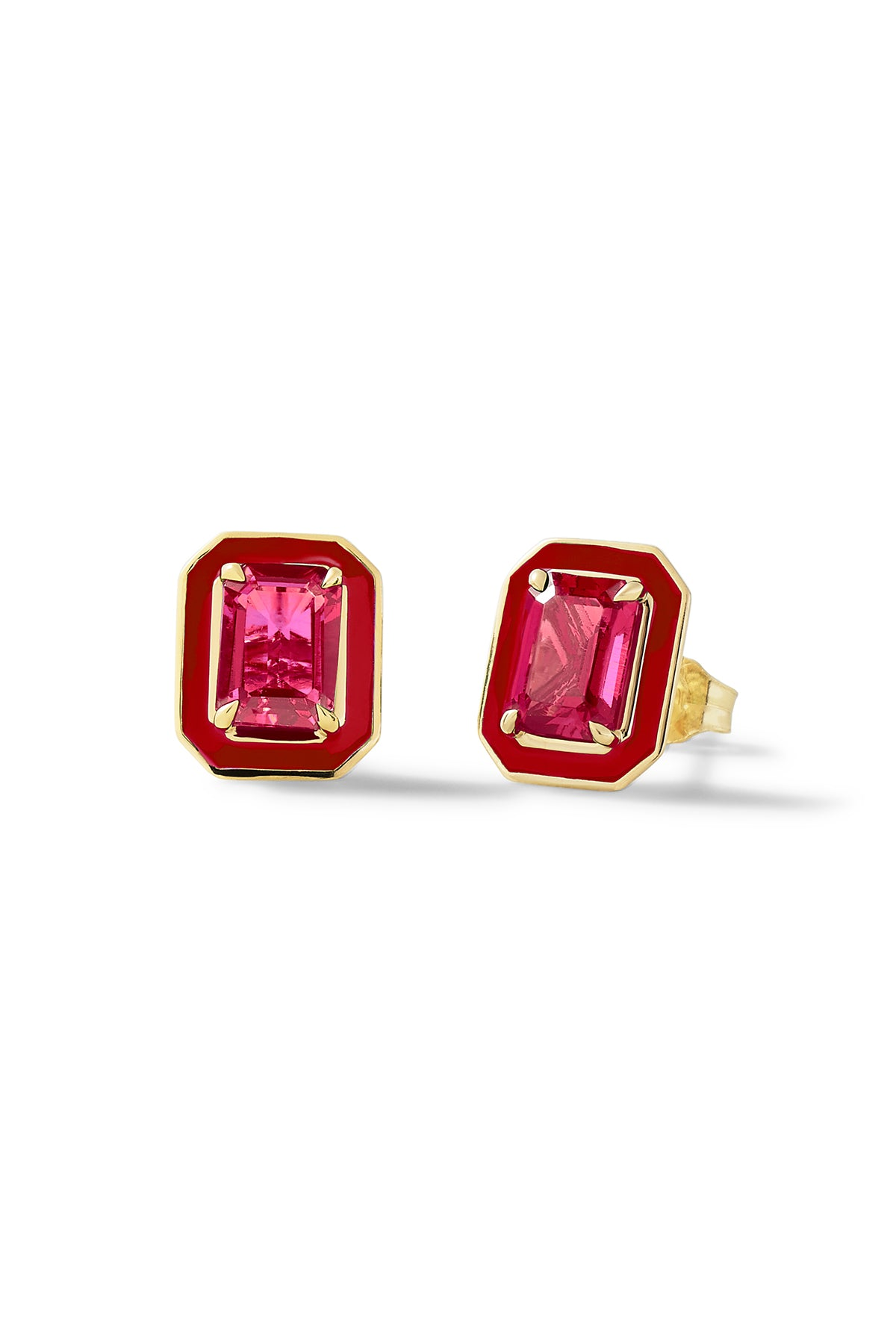Small Rectangular Cocktail Studs