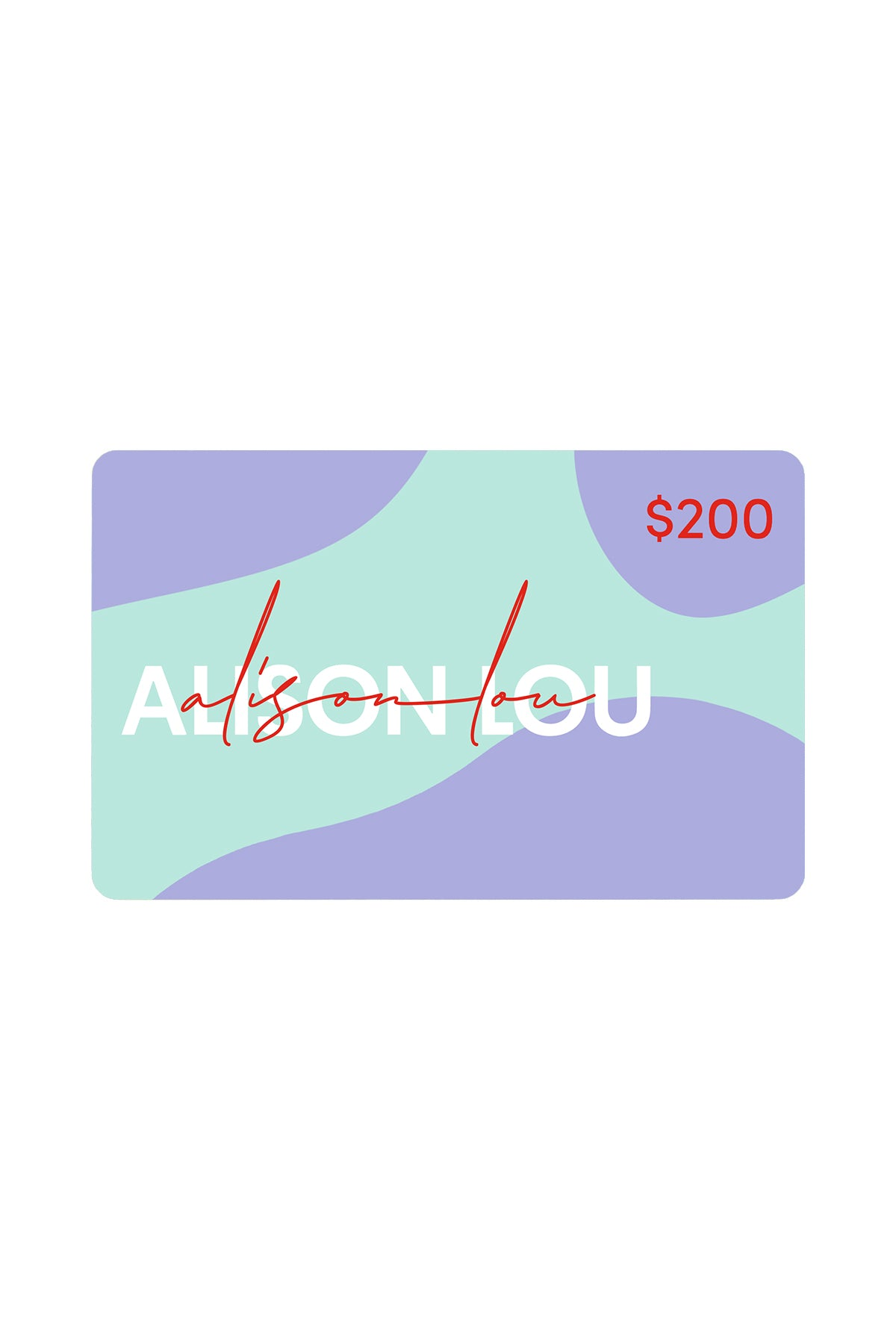 Alison Lou $200 Gift Card
