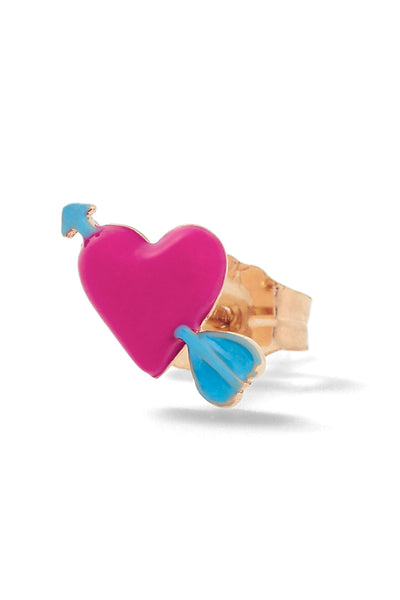 Heart with Arrow Stud - In Stock