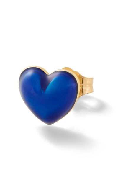 Heart Stud - Royal Blue