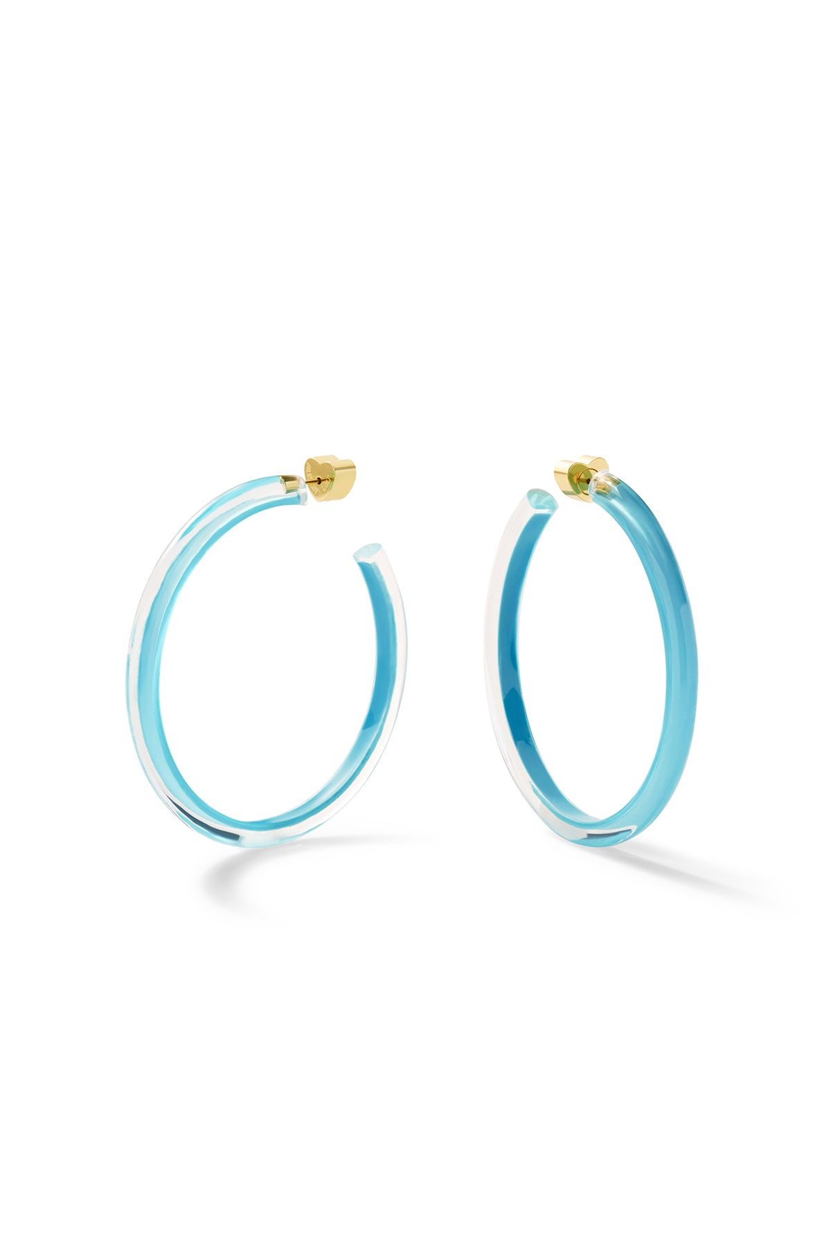 Thin Medium Jelly Hoops