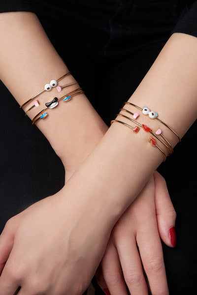 MPH Wire Bangle with Eyes