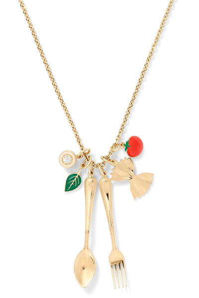 Mama Mia Charm Necklace
