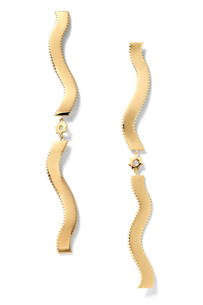Double-Pappardelle Stelle Earrings