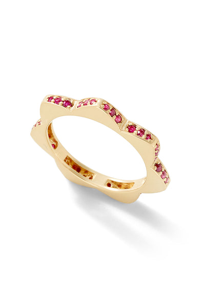 Stelle Ruby Ring