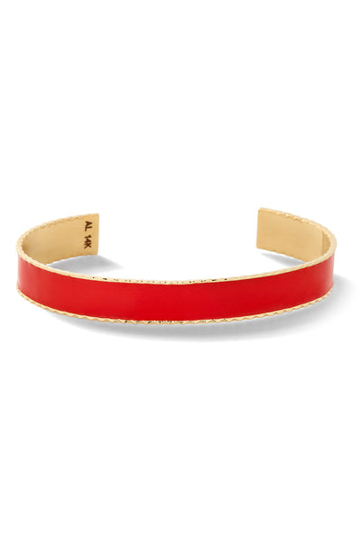 Enamel Lasagna Bangle