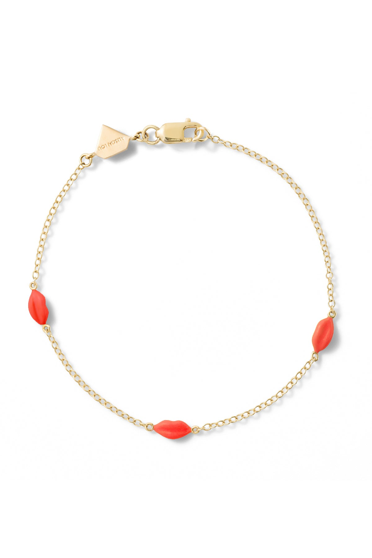 Mini Lip By The Yard Bracelet - In Stock