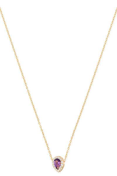 """A"" Diamond Necklace - In Stock"