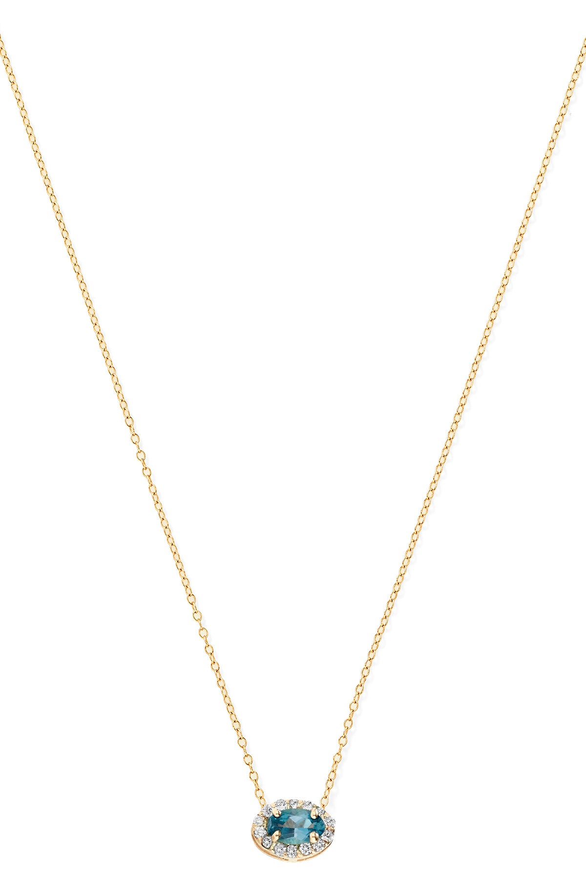 """T"" Diamond Necklace"