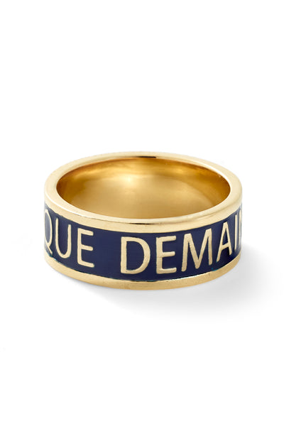 + Qu'Hier - Que Demain Ring - In Stock