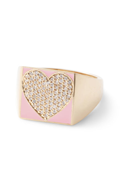 SuperLou Diamond Heart Ring - In Stock