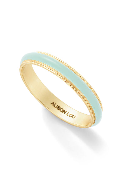 Medium Enamel Bands - Color Options