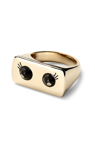 Black Eyes Bar Ring