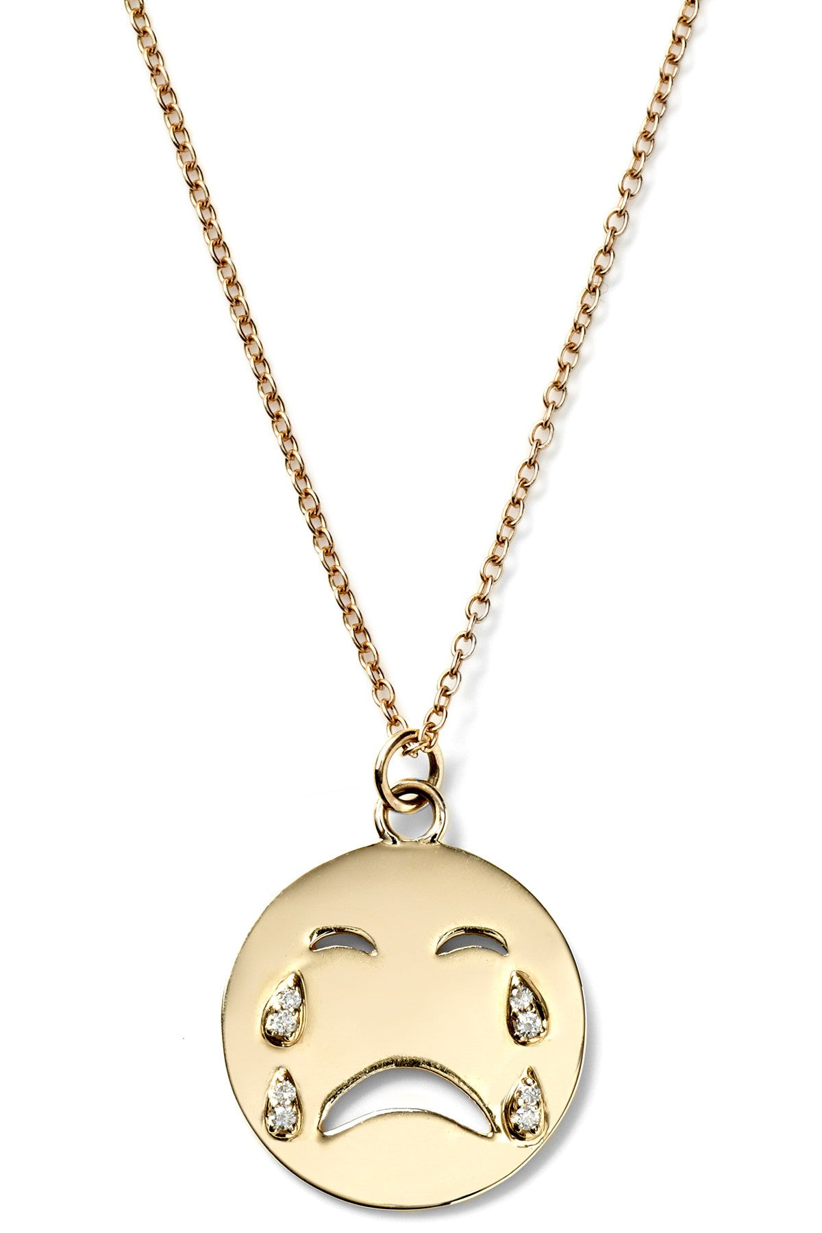 Large Cry Baby Necklace