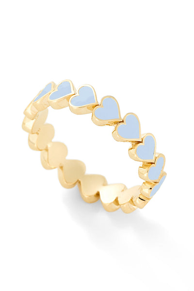 Heart Stack Ring - In Stock