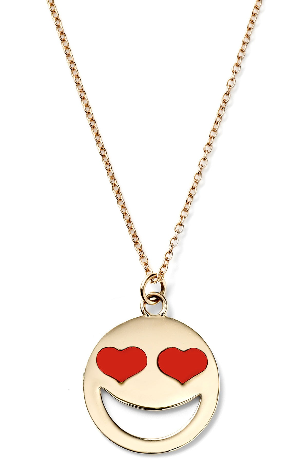 Large Enamel Lovestruck Necklace